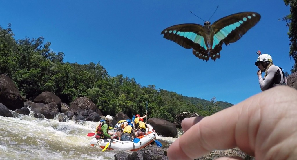 Butterfly Tully Rafting